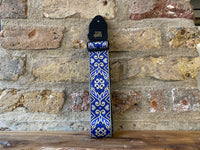 Ernie Ball Tribal Blue Jacquard Strap