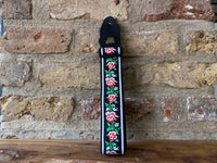 Ernie Ball Winter Rose Jacquard Strap