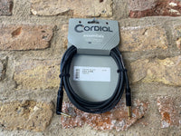 Cordial Essentials 3m Cable Angled Jack