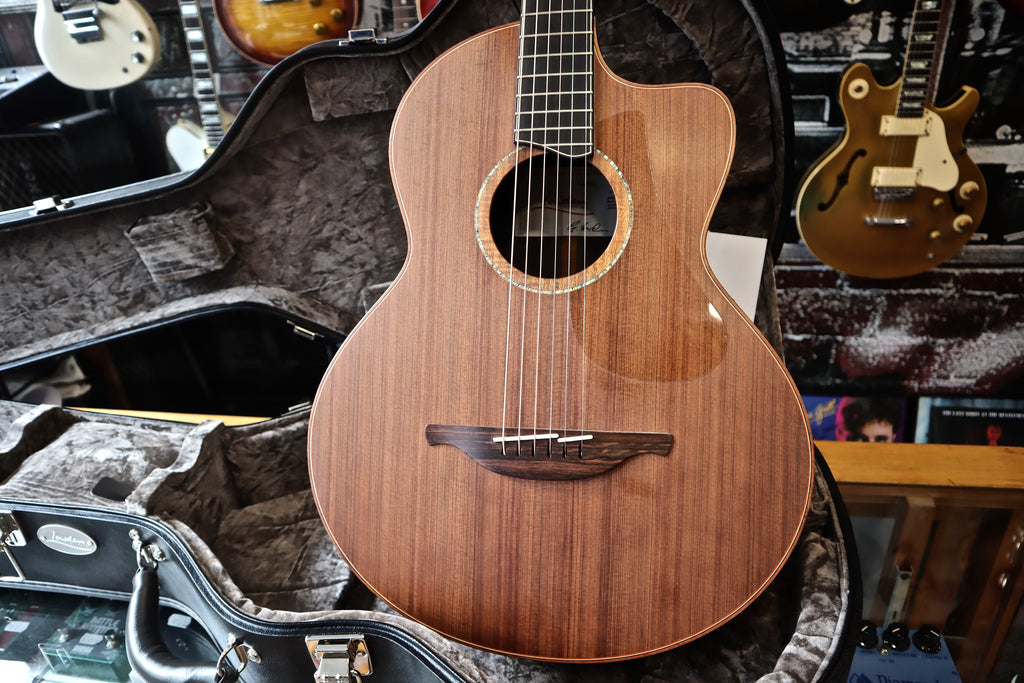 Lowden S50c 12th African Blackwood/Sinker Redwood 2018 – Some Neck