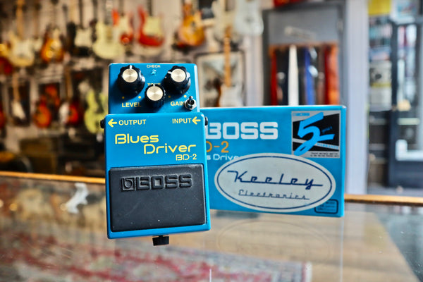 Boss BD-2 Blues Driver Keeley Phat Mod