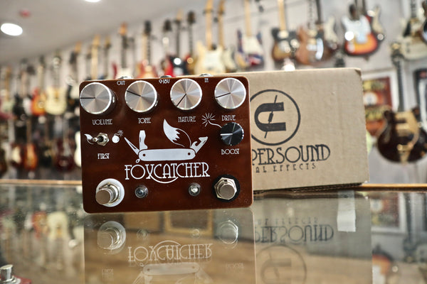 Coppersound Foxcatcher Overdrive & Boost