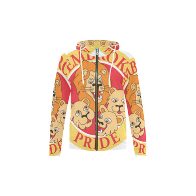 Pemebroke Youth All Over Print Full Zip Hoodie
