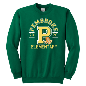 Pembroke Athletic Youth Crewneck Sweatshirt