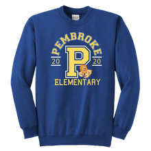 Load image into Gallery viewer, Pembroke Athletic Youth Crewneck Sweatshirt