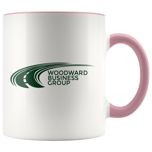 Woodward Business Group Accent Mug