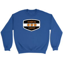 Load image into Gallery viewer, Pembroke Badge Adult Crewneck Sweater