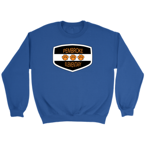 Pembroke Badge Adult Crewneck Sweater