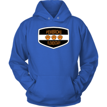 Load image into Gallery viewer, Pembroke Badge Adult Hoodie
