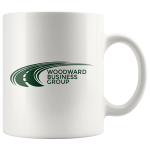 Woodward Business Group White Mug