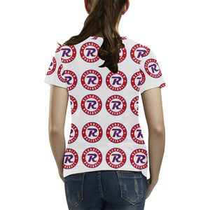 Women's All Over Short Sleeve Shirt