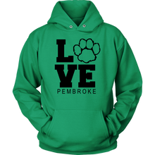 Load image into Gallery viewer, Pembroke LOVE Adult Hoodie