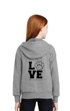 Load image into Gallery viewer, Youth Full-Zip Hooded Sweatshirt by Hanes®