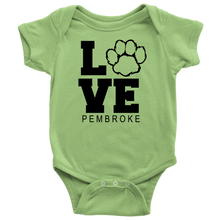 Load image into Gallery viewer, Pembroke LOVE Onesie