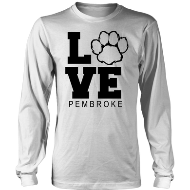 Pembroke LOVE Youth Long Sleeve Shirt