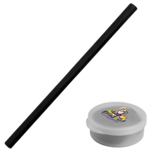 Load image into Gallery viewer, Silicone Straw in Round Case (3,000 units)