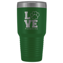 Load image into Gallery viewer, Pembroke LOVE 30oz Tumbler
