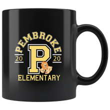 Load image into Gallery viewer, Pembroke Athletic Black 11oz Mug