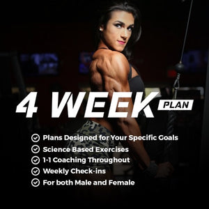 4 Week Custom Training Program