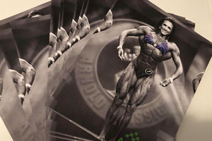 #2 Stage Photo Black and White Arnold Classic