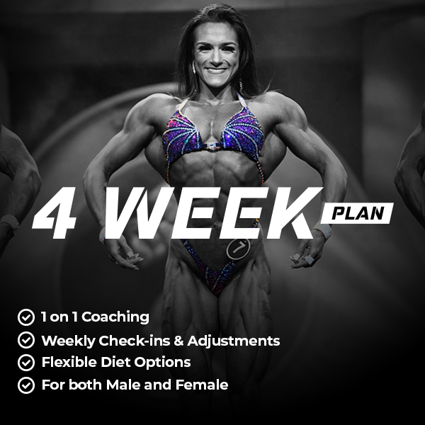 4 Week Custom Nutrition Plan
