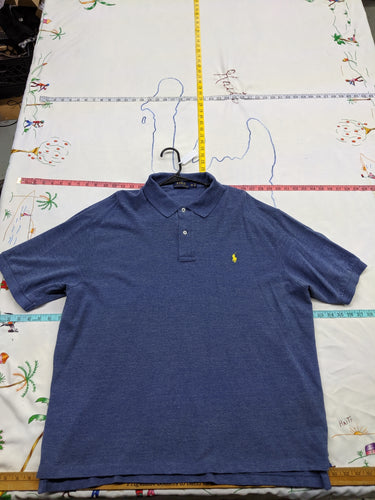 Men's 2XB Polo Ralph Lauren Blue Polo Shirt