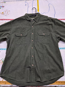 Men's 2XL Field & Stream Heavy 100% Cotton Shirt Jacket