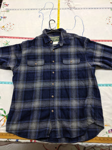 Men's 2XL Field & Stream Heavy 100% Cotton Flannel Shirt