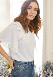 Bettina Lace Tee