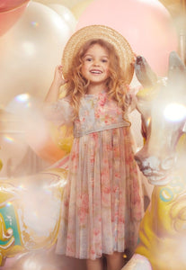 Ruby Bloom Garland Kids Dress