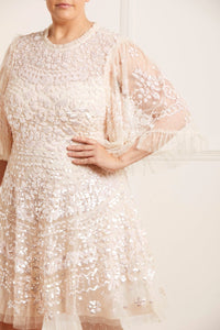 Anais Sequin Dress - Pink
