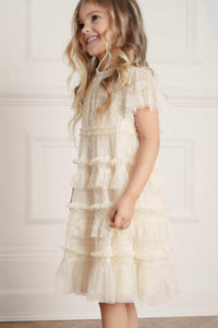 Andromeda Kids Dress - Beige