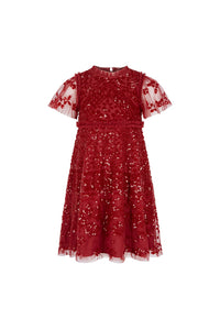Aurora Kids Dress - Red