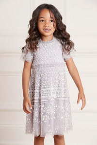 Aurora Kids Dress - Blue