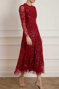 Aurora Ballerina Dress - Red