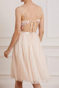 Butterfly Bodice Cami Midi Dress