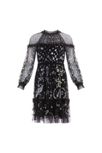 Delphine Sequin Mini Dress