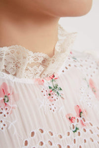 Desert Rose Lace Top
