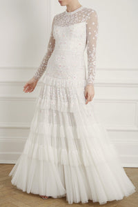 Gracie Long Sleeved Bridal Gown