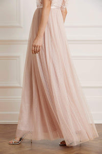 Honesty Bodice Maxi Dress - Pink