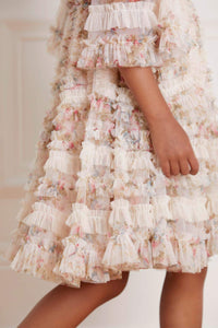 La Vie en Rose Avery Kids Dress - Beige