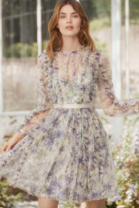 Lilacs Garland Dress