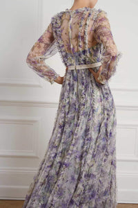 Lilacs Garland Gown