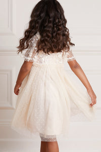Lilybelle Sequin Kids Dress