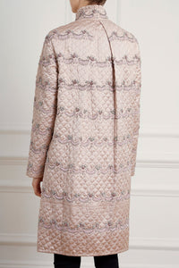 Neve Embellished Quilted Coat
