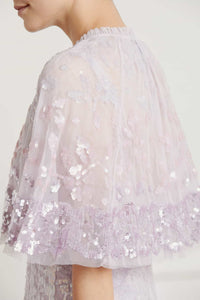 Patchwork Sequin Cape