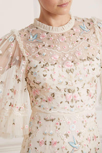 Regency Garden Ballerina Dress - Beige