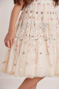 Regency Garden Kids Prom Dress - Beige