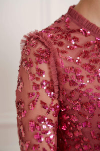 Rosmund Sequin Dress