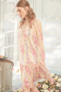 Ruby Bloom Long Sleeve Dress